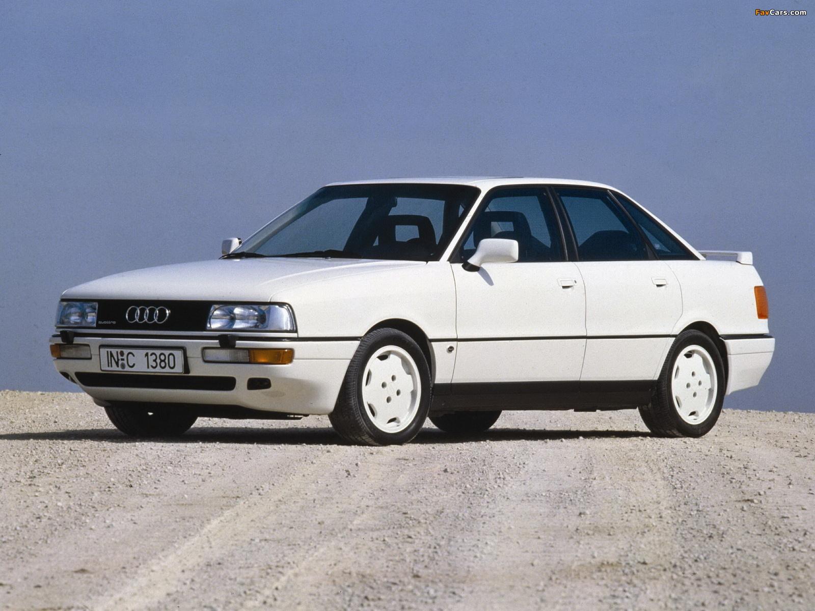 Audi 90 quattro 20v b3 1988 1991 wallpapers 1600 x 1200