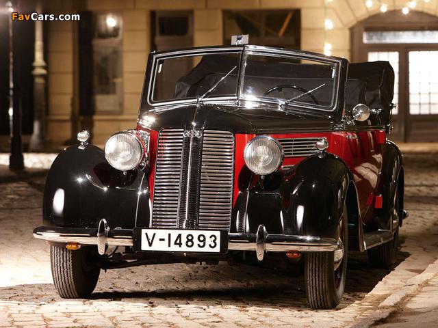Audi 920 Cabriolet (1938–1940) images (640 x 480)