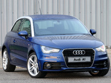 Audi A1 TFSI S-Line ZA-spec 8X (2010) photos
