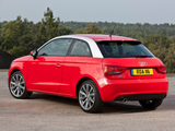 Audi A1 TDI UK-spec 8X (2010) photos