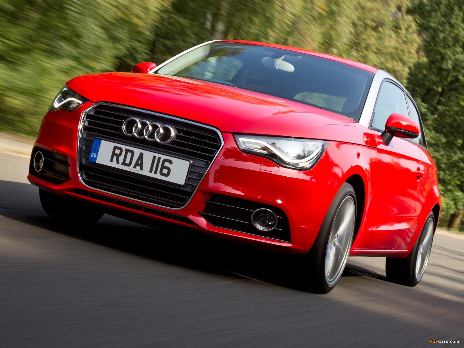 Audi A1 TDI UK-spec 8X (2010) photos (1600 x 1200)