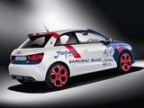 Audi A1 Samurai Blue 8X (2011) photos