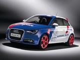 Audi A1 Samurai Blue 8X (2011) wallpapers