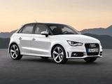 Audi A1 Sportback TDI S-Line 8X (2012) images