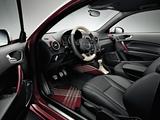 Audi A1 Sportback TDI S-Line 8X (2012) photos