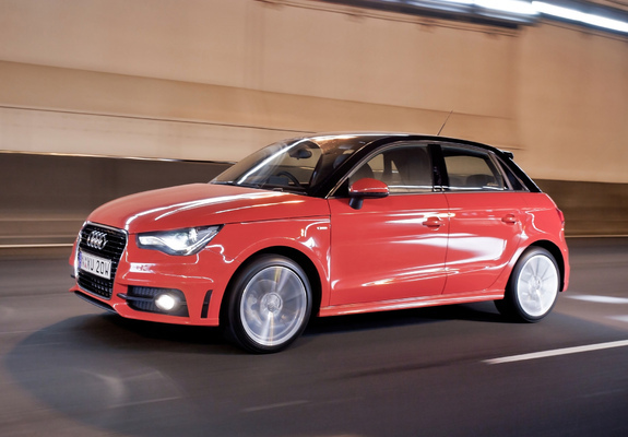 audi a1 sportback tfsi s line au spec 8x 2012 pictures. Black Bedroom Furniture Sets. Home Design Ideas