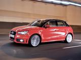 Audi A1 Sportback TFSI S-Line AU-spec 8X (2012) pictures