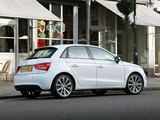 Audi A1 Sportback TFSI UK-spec 8X (2012) pictures