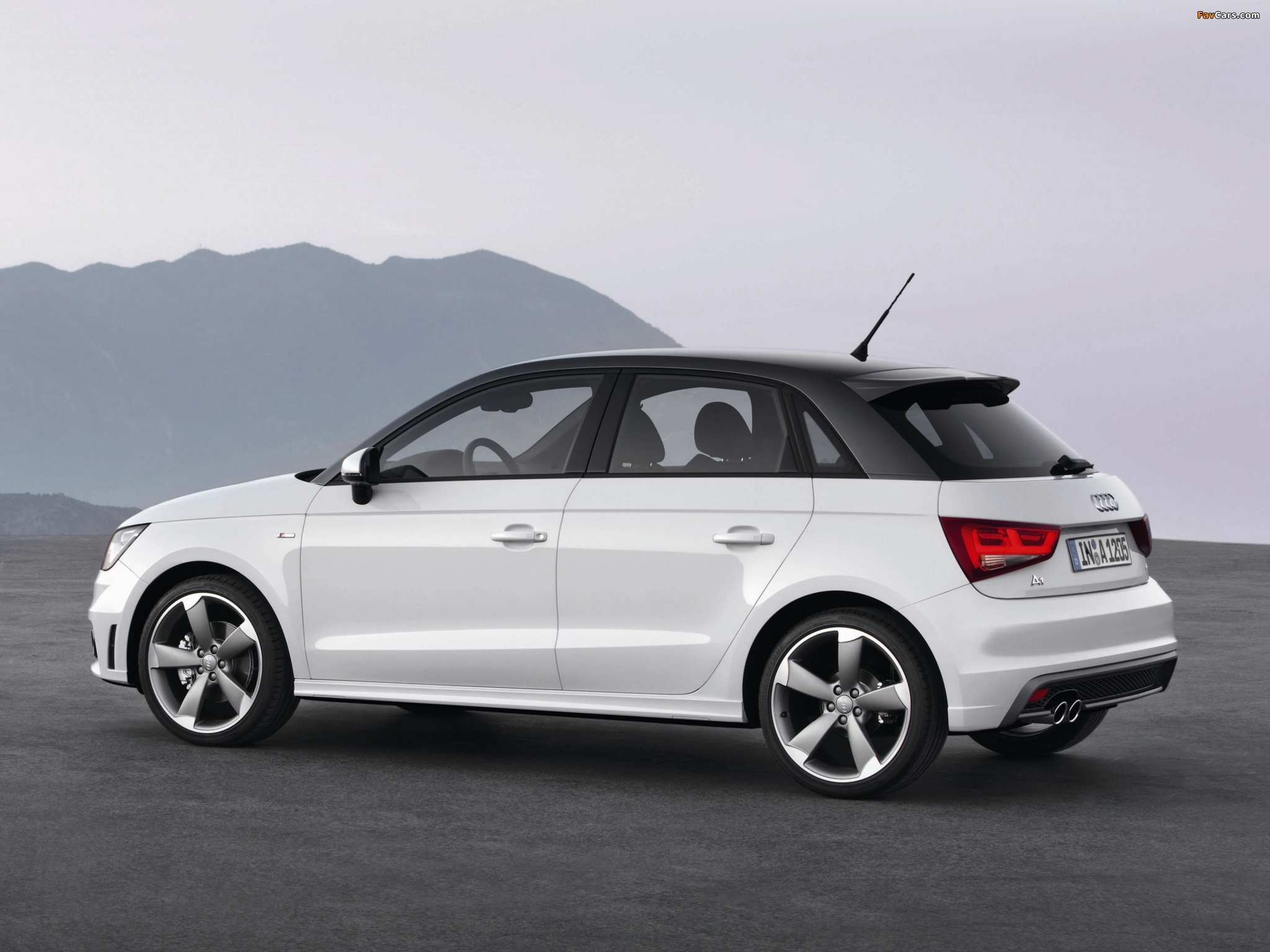 audi a1 sportback tdi s line 8x 2012 pictures 2048x1536. Black Bedroom Furniture Sets. Home Design Ideas