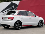 Audi A1 Sportback Competition Kit R18 Red Plus (8X) 2013 images
