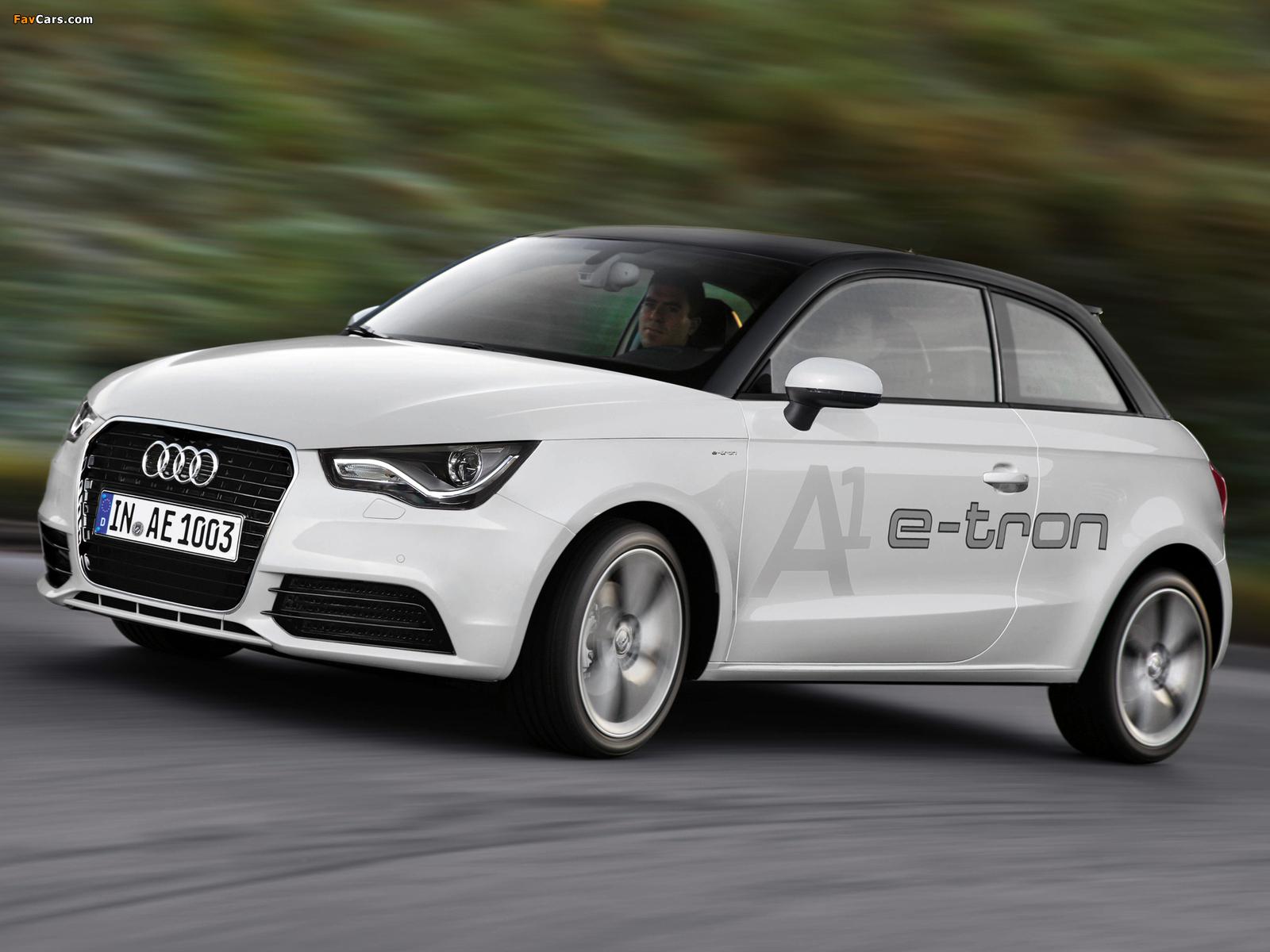 Photos Of Audi A1 E Tron Concept 8x 2010 1600x1200