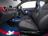 Photos of Audi A1 Samurai Blue 8X (2011)