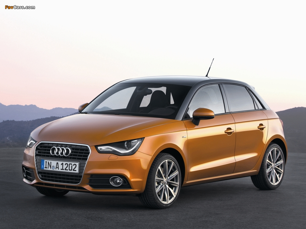 photos of audi a1 sportback tfsi s line 8x 2012 1024x768. Black Bedroom Furniture Sets. Home Design Ideas