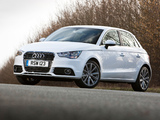 Photos of Audi A1 Sportback TFSI UK-spec 8X (2012)