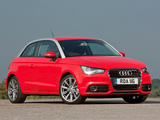 Pictures of Audi A1 TDI UK-spec 8X (2010)
