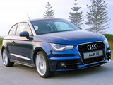 Pictures of Audi A1 TFSI S-Line ZA-spec 8X (2010)