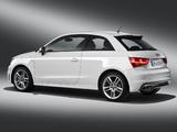 Audi A1 TFSI S-Line 8X (2010) wallpapers