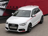 Audi A1 Sportback Competition Kit R18 Red Plus (8X) 2013 wallpapers