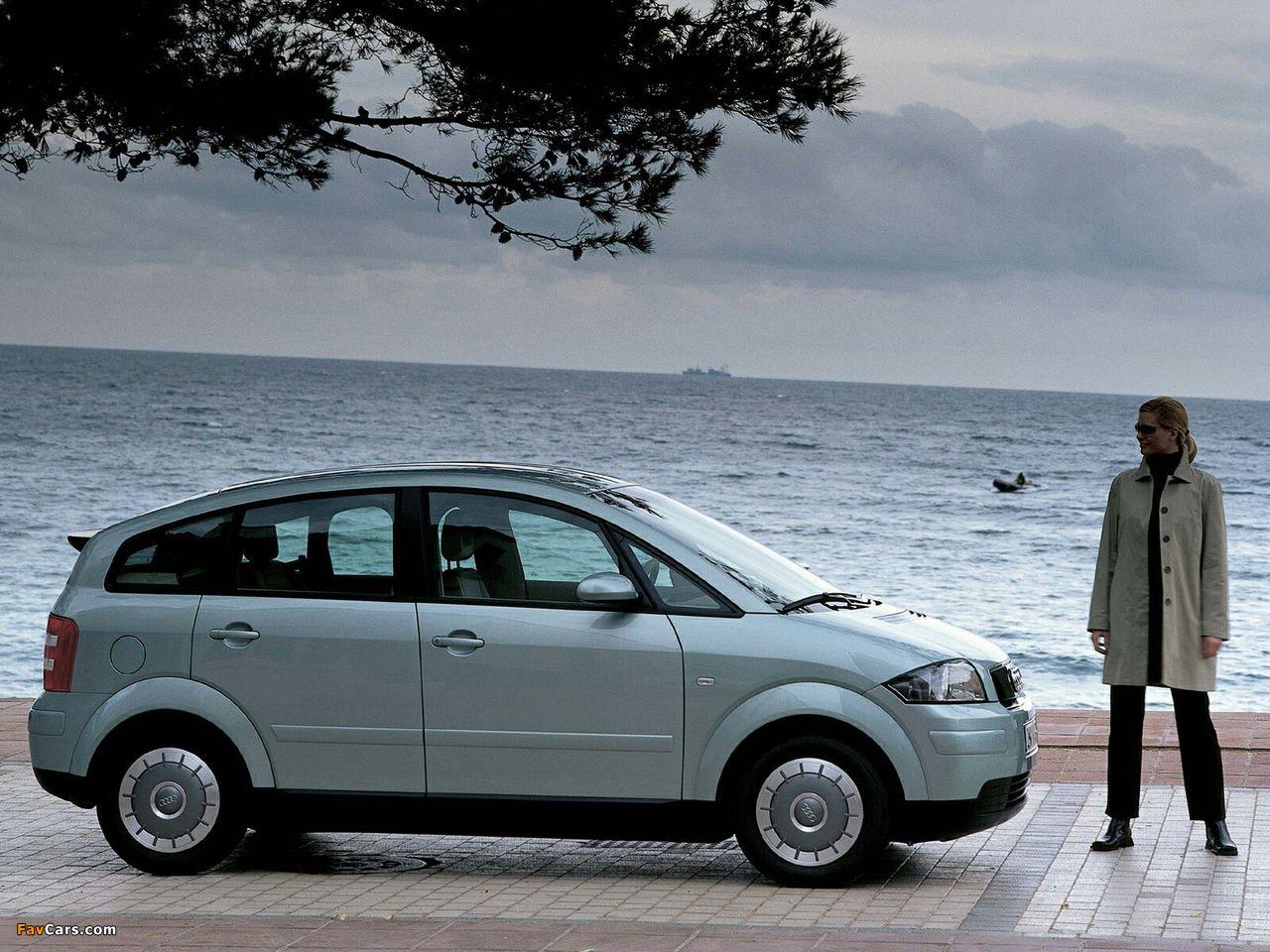 Audi A2 1.2 TDI (2001–2005) photos (1280 x 960)