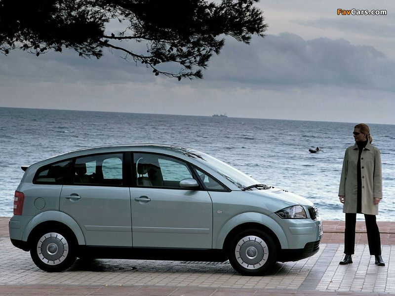 Audi A2 1.2 TDI (2001–2005) photos (800 x 600)