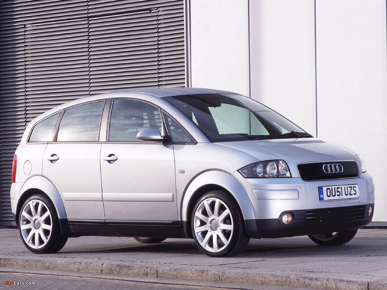 Images Of Audi A2 1 6 Fsi Uk Spec 2004 2005 1280x960