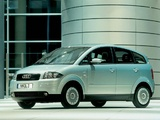 Photos of Audi A2 1.2 TDI (2001–2005)
