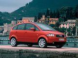 Photos of Audi A2 1.6 FSI (2004–2005)
