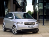 Pictures of Audi A2 1.4 UK-spec (2000–2005)