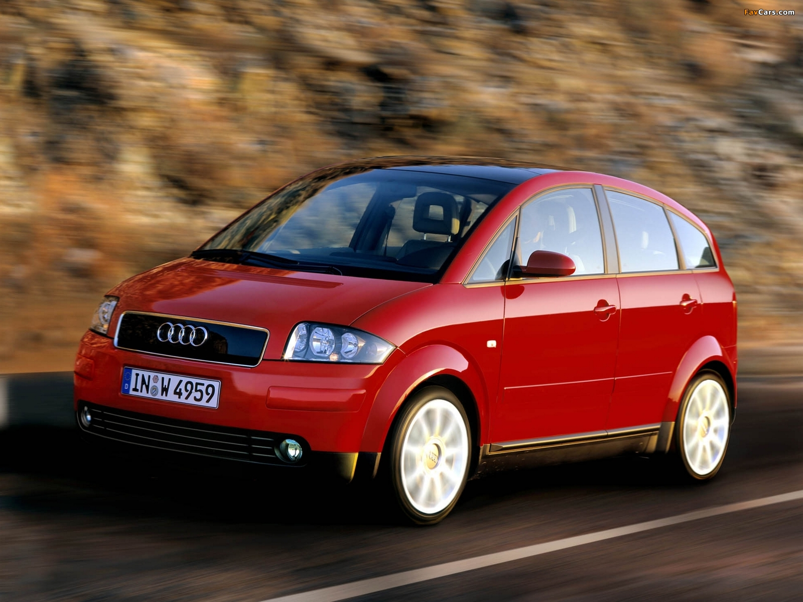 Audi A2 1 6 Fsi 2004 2005 Wallpapers 1600x1200