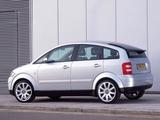 Audi A2 1.6 FSI UK-spec (2004–2005) wallpapers