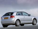 Audi A3 2.0 FSI UK-spec 8P (2003–2005) images