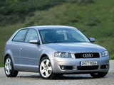 Audi A3 2.0 TDI 8P (2003–2005) pictures