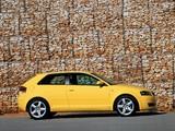 Audi A3 2.0 TDI UK-spec 8P (2003–2005) pictures