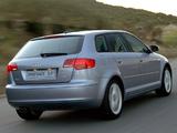 Audi A3 Sportback 2.0T ZA-spec 8PA (2005–2008) images