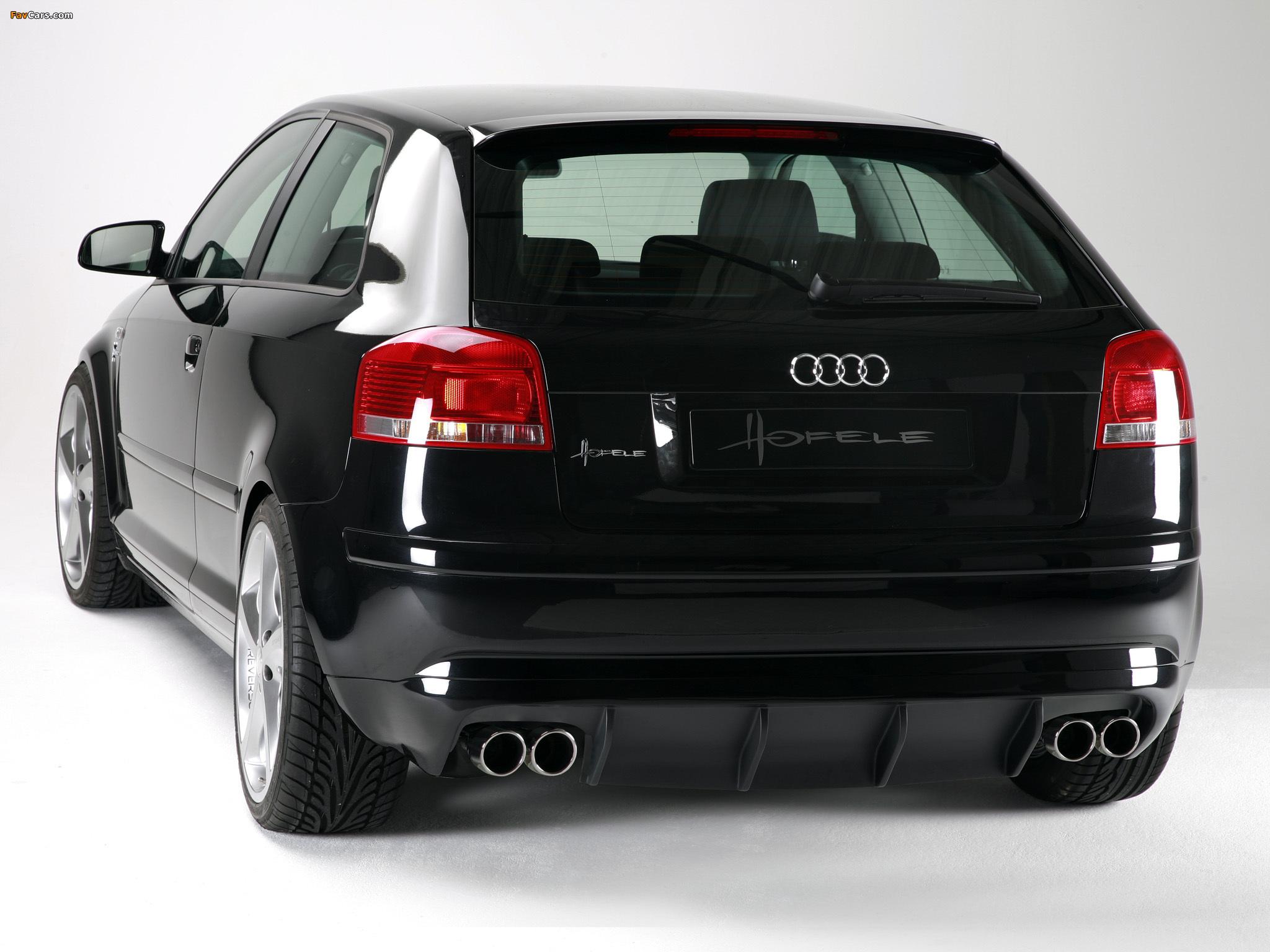Hofele Design Audi A3 8p (2005–2008) Images