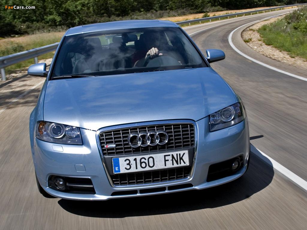 Audi A3 2008 >> Audi A3 1.8T S-Line 8P (2005–2008) images (1024x768)