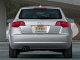 Audi A3 Sportback 2.0T US-spec 8PA (2005–2008) photos