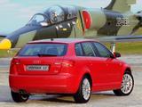 Audi A3 Sportback 3.2 quattro ZA-spec 8PA (2005–2008) photos