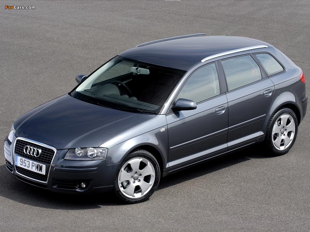 Audi A3 2008 >> Audi A3 Sportback 2.0 TDI UK-spec 8PA (2005–2008) photos (1024x768)