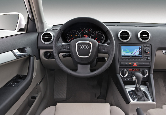 audi a3 sportback 3 2 s line us spec 8pa 2005 2008 pictures. Black Bedroom Furniture Sets. Home Design Ideas