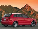 Audi A3 Sportback 2.0T US-spec 8PA (2005–2008) pictures