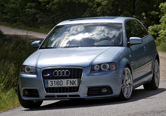 Audi A3 1 8t S Line 8p 2005 2008 Wallpapers