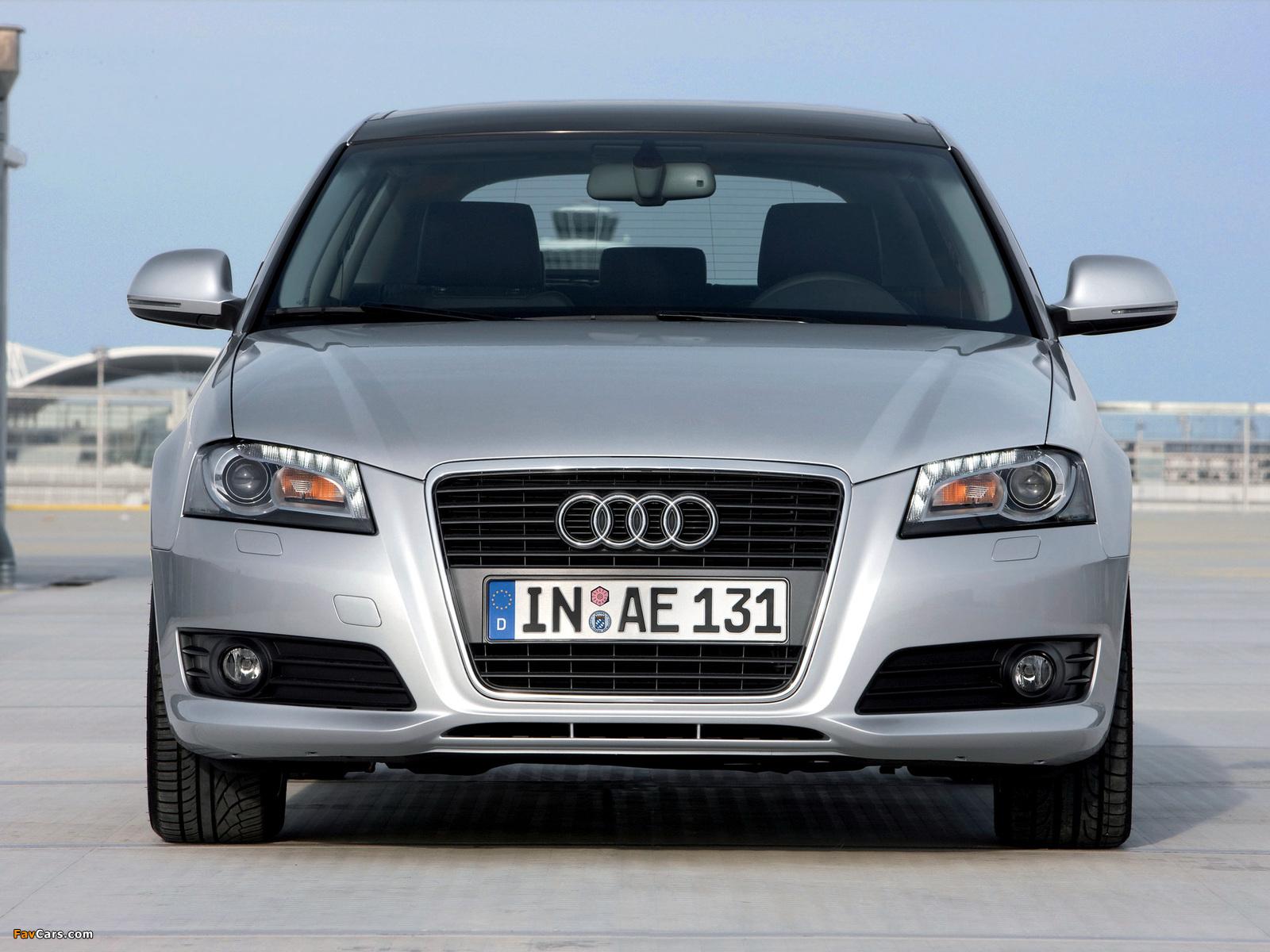 Audi A 3 2010 >> Audi A3 Sportback 8PA (2008–2010) images (1600x1200)