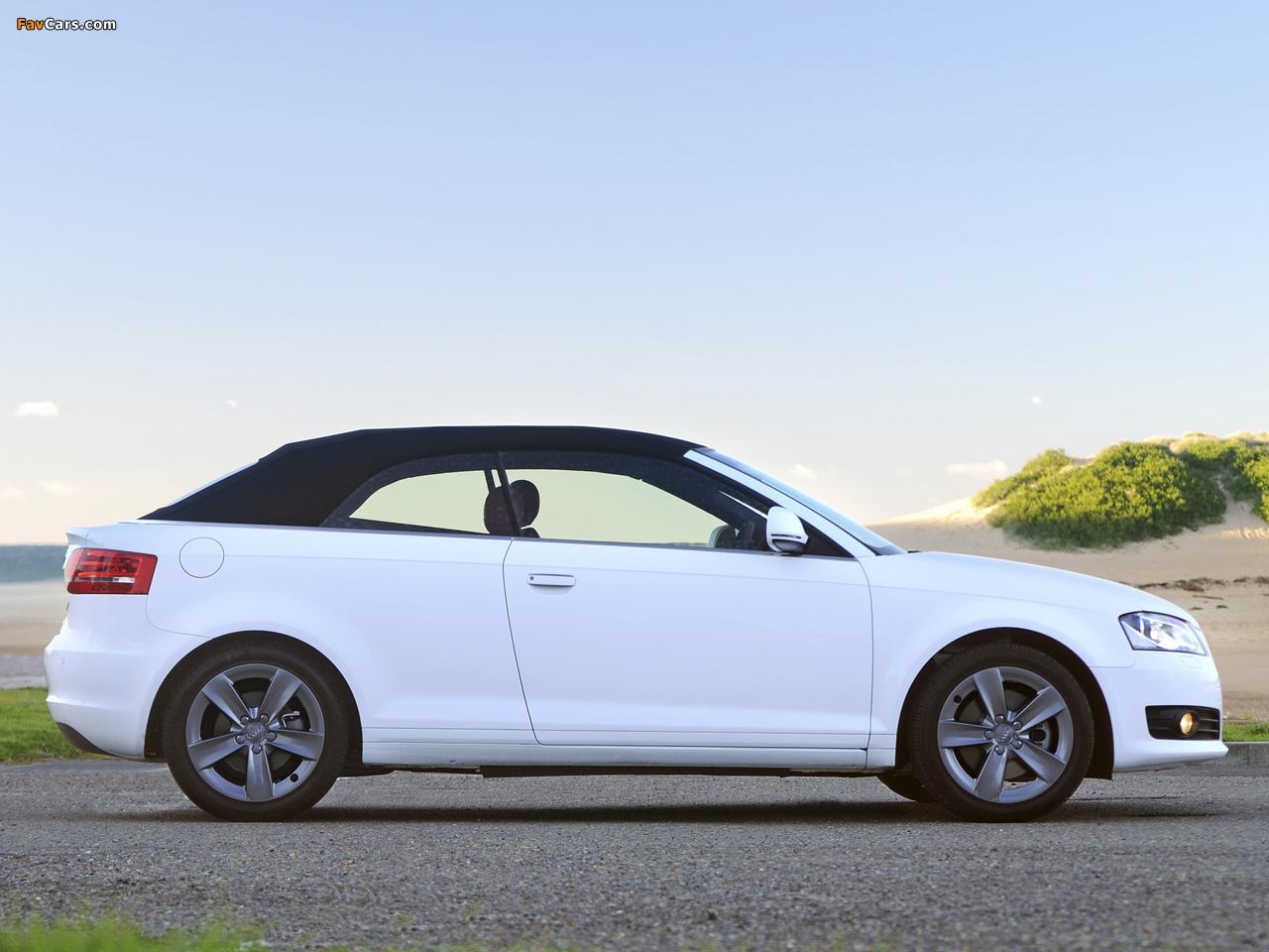 Audi 2.0 T >> Audi A3 2.0T Cabriolet AU-spec 8PA (2008) photos (1280x960)