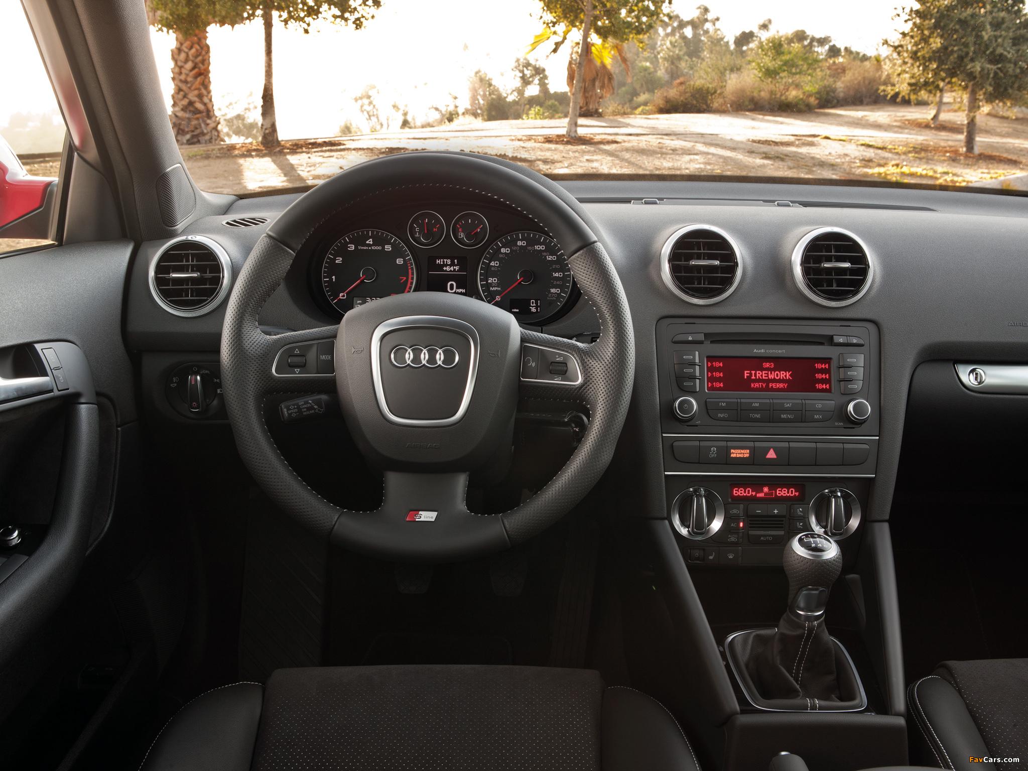 Audi A3 Sportback 2.0T S-Line US-spec 8PA (2008–2010) pictures ...