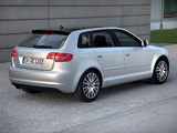 Audi A3 Sportback 8PA (2008–2010) pictures