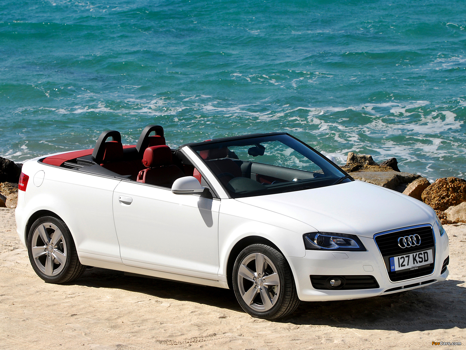 Audi A3 2 0t Cabriolet Uk Spec 8pa 2008 Wallpapers