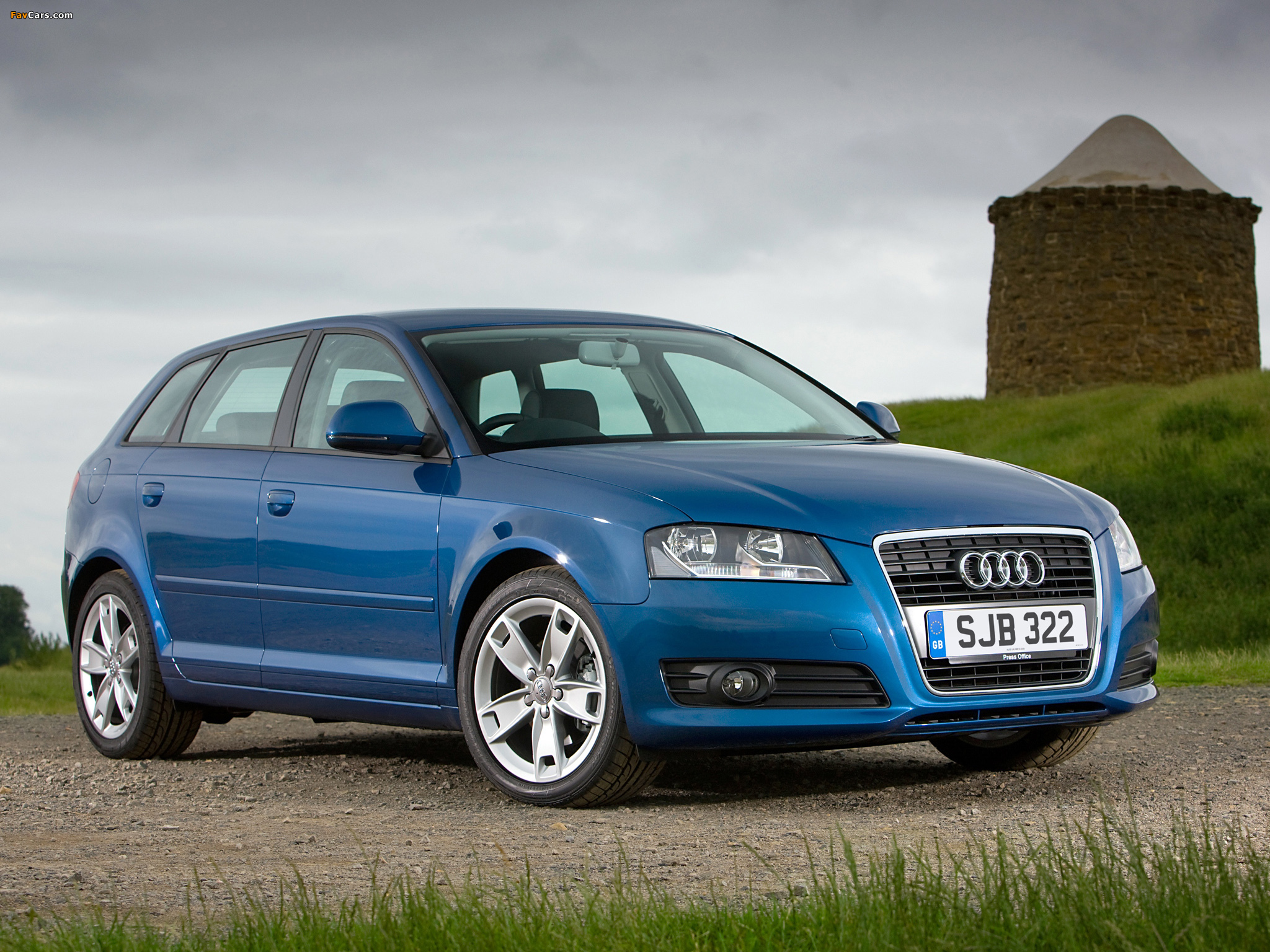 audi a3 sportback 2 0 tdi uk spec 8pa 2008 2010 wallpapers 2048x1536. Black Bedroom Furniture Sets. Home Design Ideas