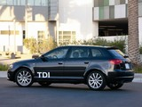 Audi A3 Sportback TDI Clean Diesel 8PA (2009–2010) pictures