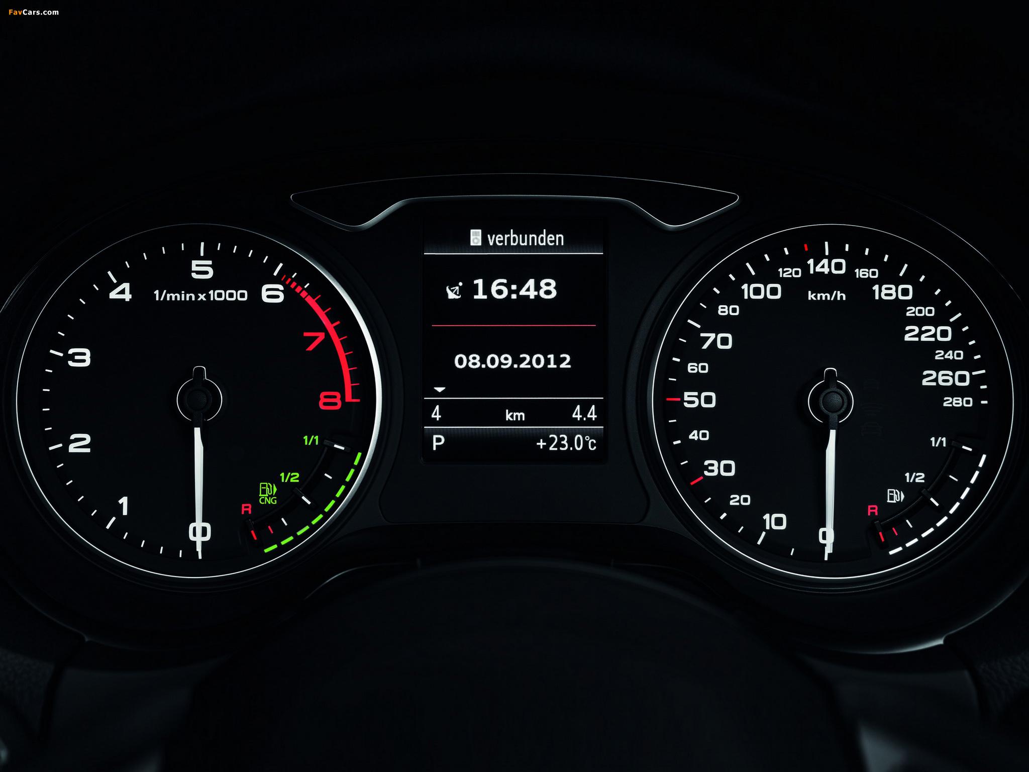 Audi A3 Sportback Tcng 8v 2012 Images 2048x1536